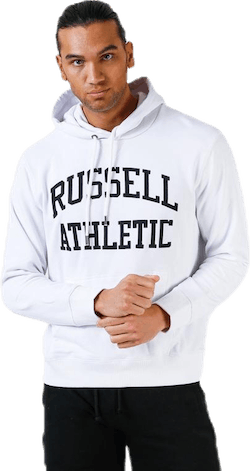 Iconic Twill Hoodie White