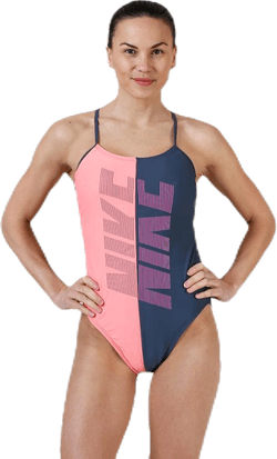 Cut-Out One Piece Rift Blue/Pink