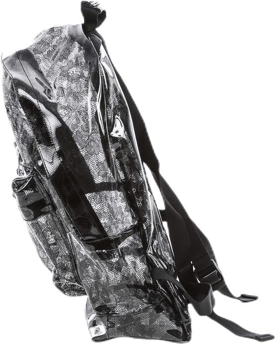 Transparent Lace Black