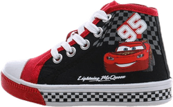 Cars High Light Up Sneakers Black/Red