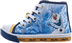 "Frost Olaf High Sneaker ""Light Up"" Blue/White"