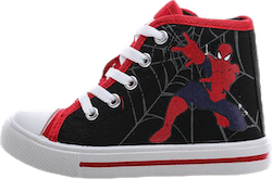 Spiderman High Sneakers Black/Red