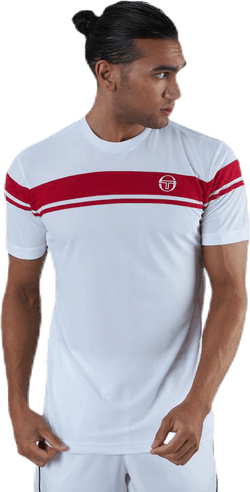 Young Line Pro T-shirt White/Red