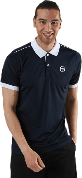 Club Tech Polo Blue/White
