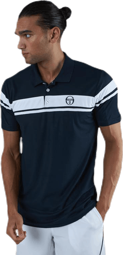Young Line Pro Polo Blue/White