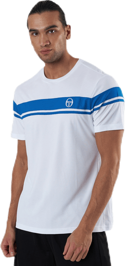 Young Line Pro T-shirt Blue/White