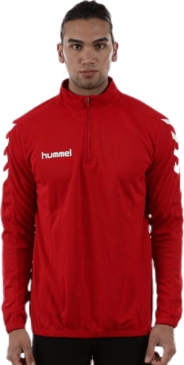 Core 1/2 Zip Sweat Red