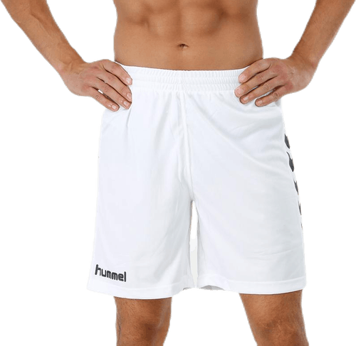 Core Poly Shorts White