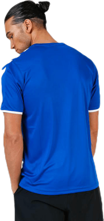 Core SS Poly Jersey Blue