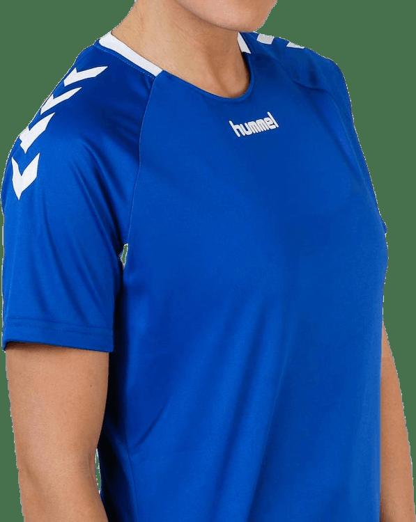 Core Team Jersey W s/s Blue