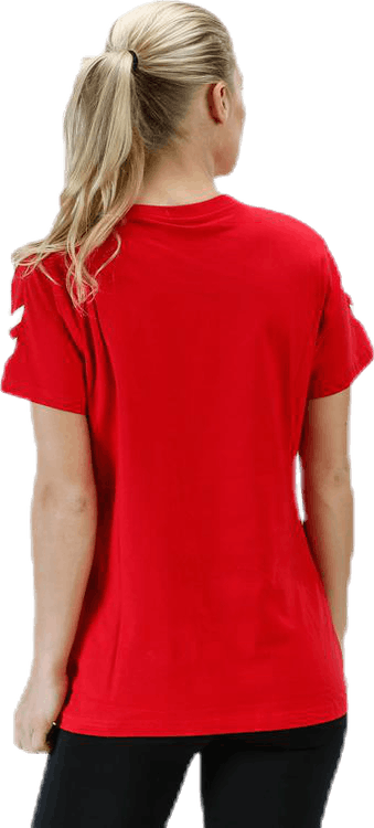 Go Cotton T-Shirt W s/s Red