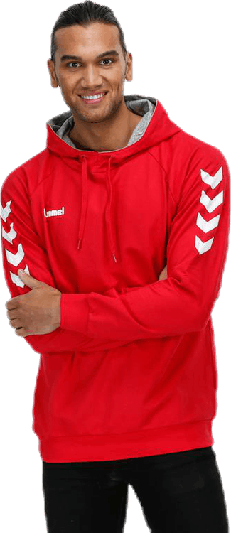 Cotton Hoodie Red