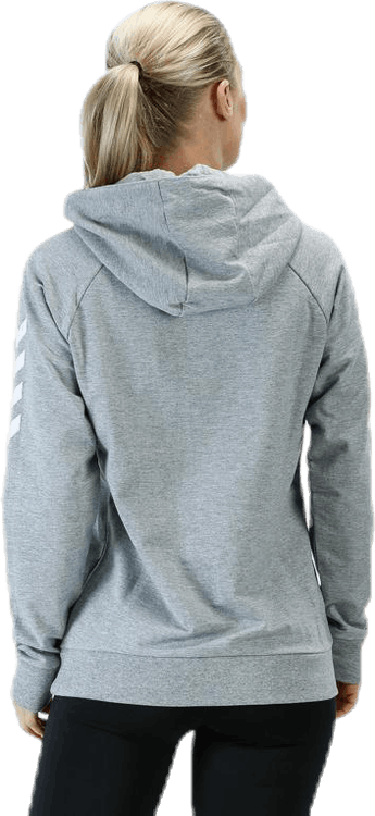 Cotton Hoodie W Grey