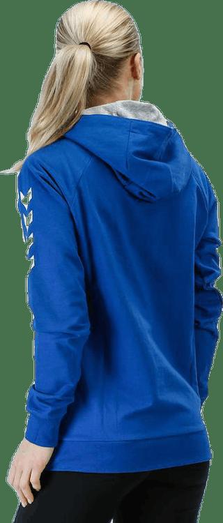 Cotton Hoodie W Blue