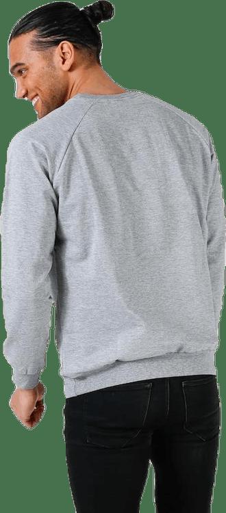 Cotton Logo Sweatshirt Grey