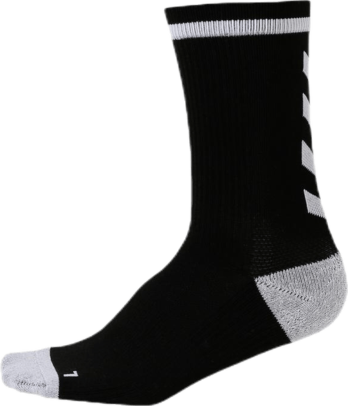 Elite Indoor Sock Low White/Black