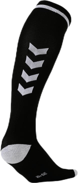 Elite Indoor Sock High White/Black