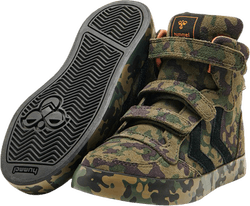 Stadil Camo Mid Jr Patterned/Black