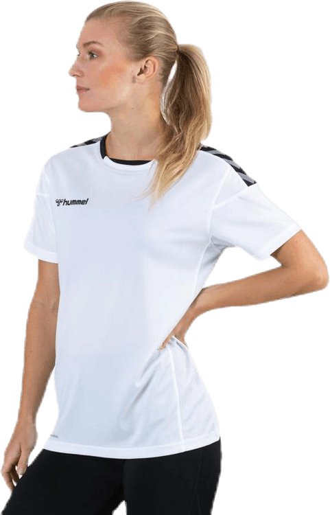 Authentic Poly Jersey White