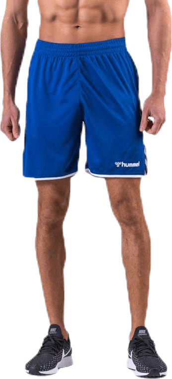 Authentic Poly Shorts Blue