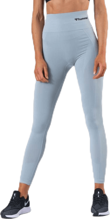 Tif High Waist Seamless Tights Grey/Beige