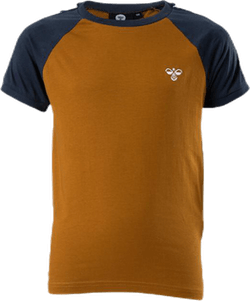 Svend Jr T-Shirt Blue/Brown