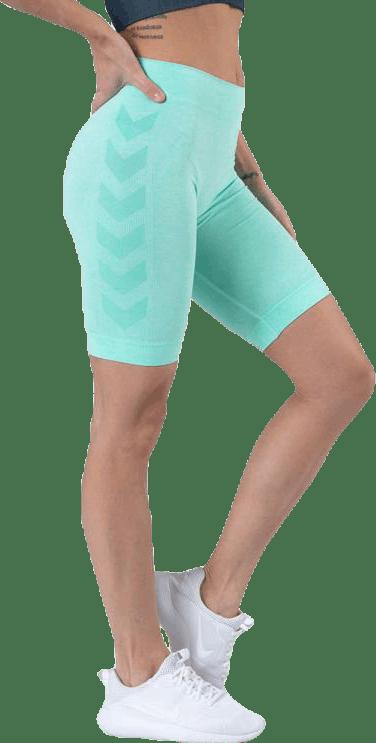 Seamless Cycling Shorts Green