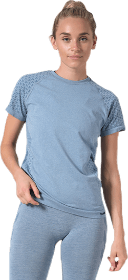 CI Seamless SS T-Shirt Blue