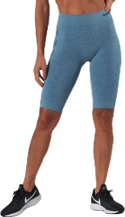 Seamless Cycling Shorts Blue