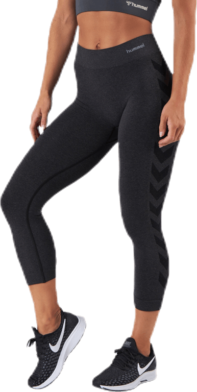 CI Seamless 3/4 Tights Black