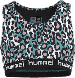 Jr Mimmi Sports Top Pink/Turquoise