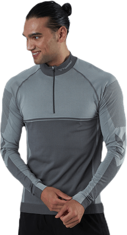 Ryder Seamless Half Zip Patterned