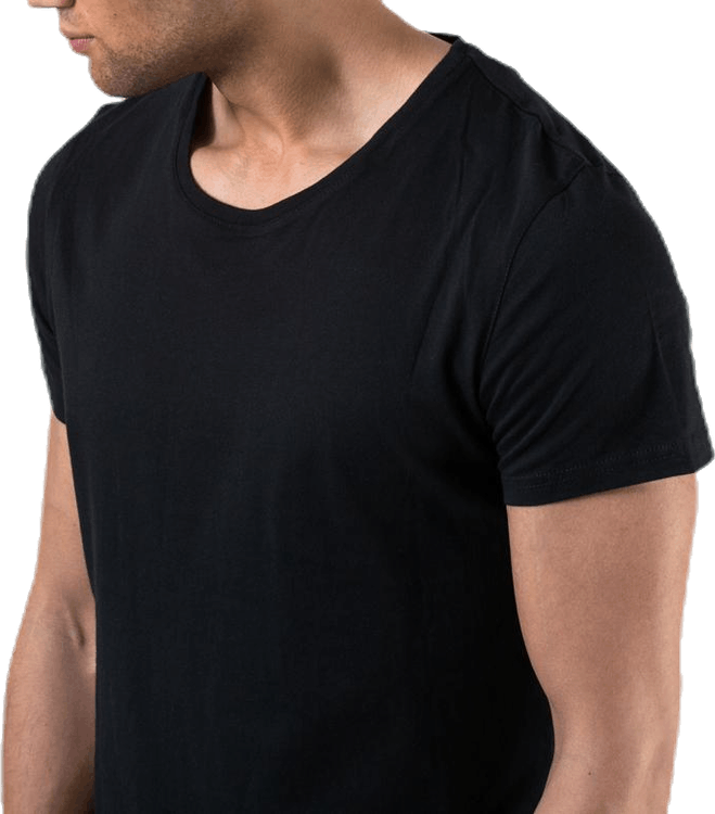 Original  R-Neck Tee No 3 Black