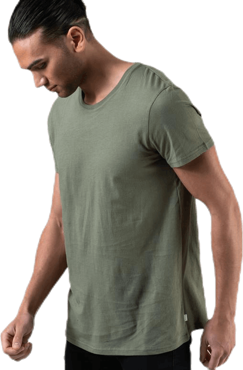 Original R-Neck Tee Green