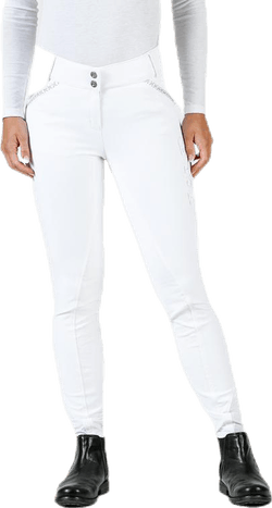 Emily Riding Pants w. Silicon White