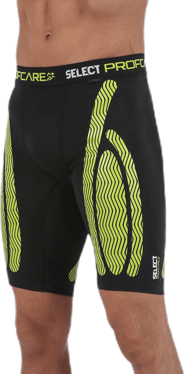 Compression Shorts 6407 Black