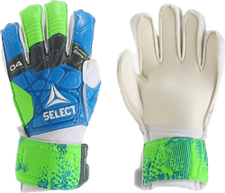 GK Gloves 04 Protection Flat Cut Blue/Green