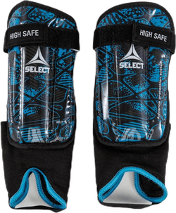 Shin Guards High Safe Blue/Black