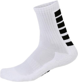 Sports Socks Striped White