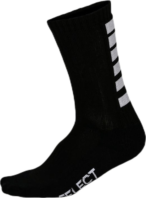 Sports Socks Striped Black