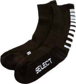 Sports socks striped long Black