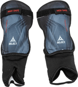 Shin Guards High Safe v20 Black/Grey