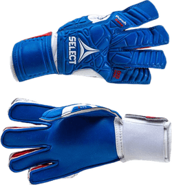 GK Gloves 88 Flat Cut Blue/White/Red