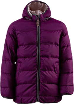 Ruby Bubble Jacket Purple
