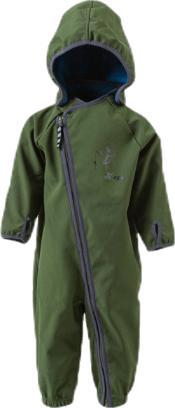 Mikkel Softshell Suit Green