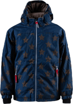 Asger Star Jacket Blue