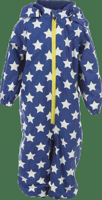 Ralf Fleece Rain Suit Blue