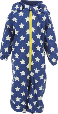 Ralf Fleece Rain Suit Blue