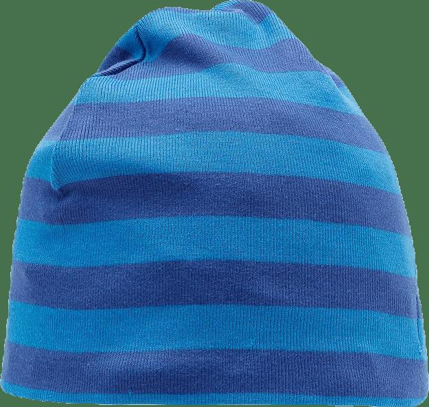 Kasper Rib Beanie Blue/Grey