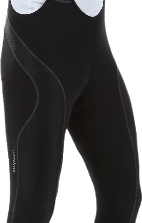 Bike Kneepant w/Bib Black
